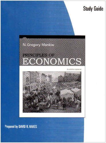 9780324319026: Study Guide for Mankiw's Principles of Economics, 4th