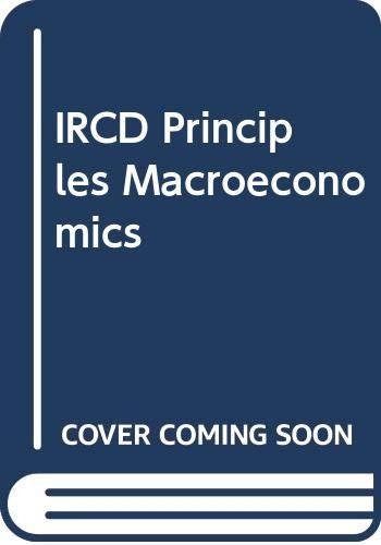 9780324319125: IRCD Principles Macroeconomics