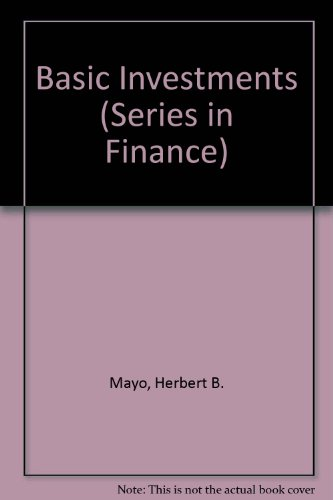 9780324319576: Basic Investments (Series in Finance)