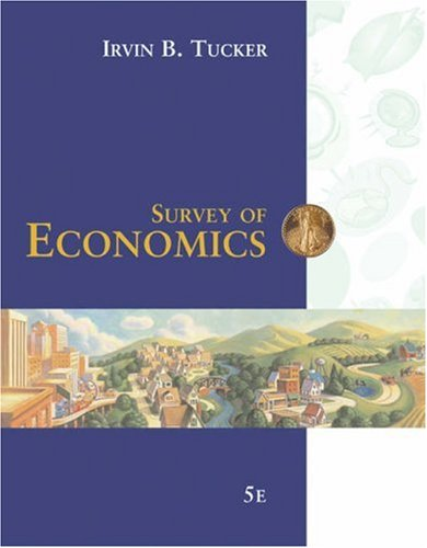 9780324319729: Survey of Economics (with Bind-In InfoTrac Printed Access Card)