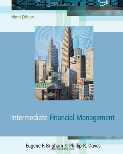 9780324319866: Intermediate Financial Management (with Thomson One) (Available Titles CengageNOW)