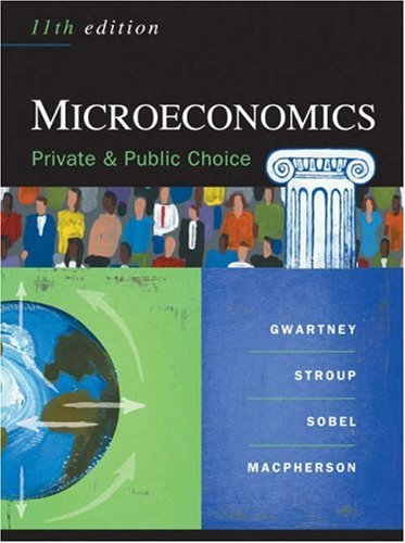 9780324320367: Microeconomics: Private and Public Choice (Available Titles CengageNOW)