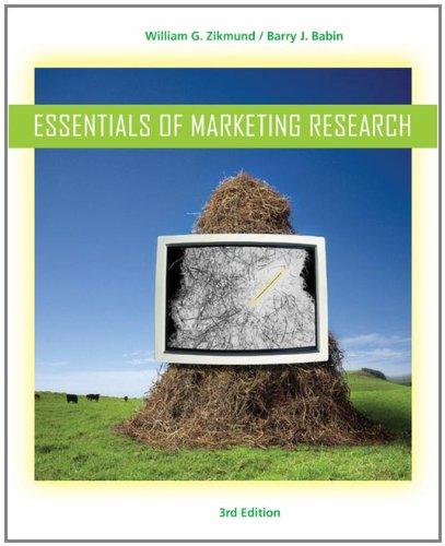 Essentials of Marketing Research: Zikmund, William G.(William