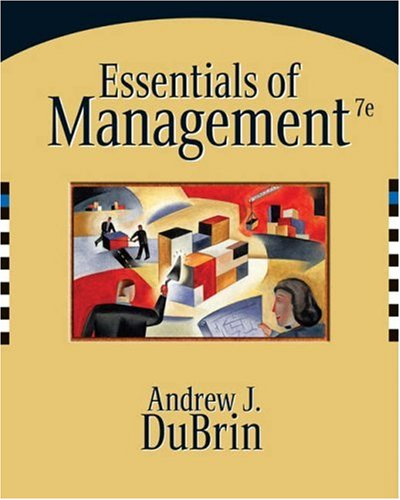 9780324321104: Essentials of Management (Available Titles CengageNOW)