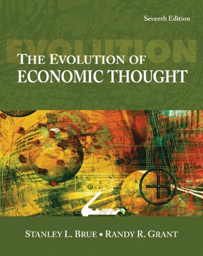 9780324321456: The Evolution of Economic Thought (with InfoTrac 1-Semester, Economic Applications Online Product Printed Access Card)
