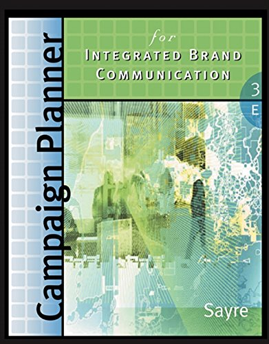 9780324321470: Campaign Planner for Integrated Brand Communications