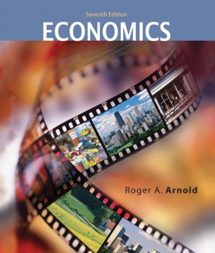 9780324321548: Graphing Exercises in Economics for Arnold's Macroeconomics, 7th