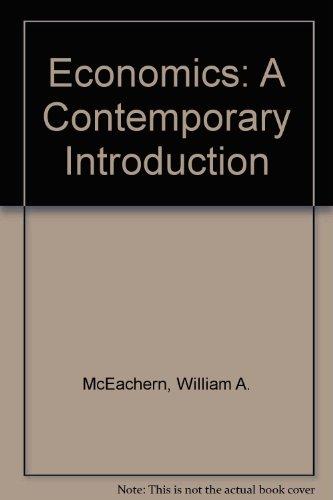 9780324321593: Economics: A Contemporary Introduction