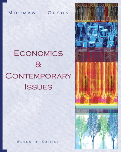 9780324321661: Economics and Contemporary Issues (with InfoTrac 1-Semester, Economic Applications Online Product Printed Access Card)