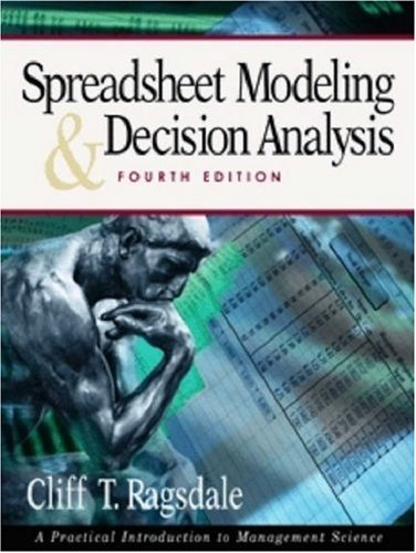 9780324321777: Spreadsheet Modeling and Decision Analysis (with Microsoft PRJ 2003)