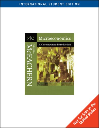9780324322279: Microeconomics: A Contemporary Introduction: WITH Infotrac AND Wall Street Journal