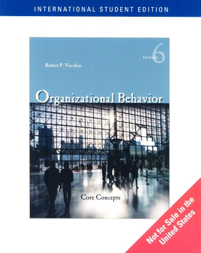 9780324323368: Organizational Behavior: Core Concepts
