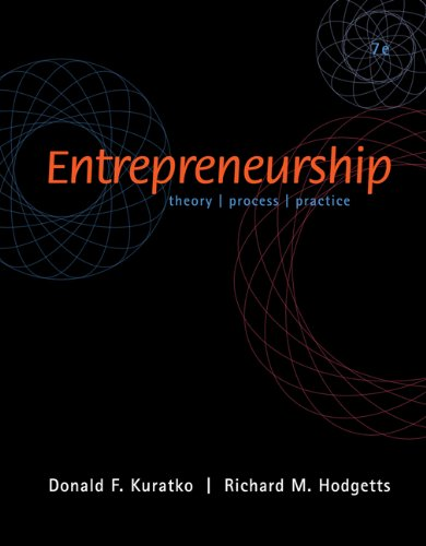 9780324323412: Entrepreneurship (with InfoTrac)