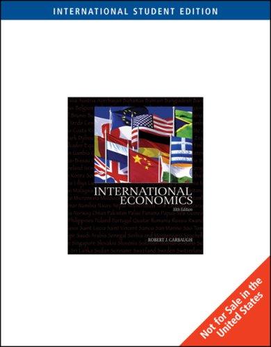 9780324323474: International Economics: With Infotrac (Ise)
