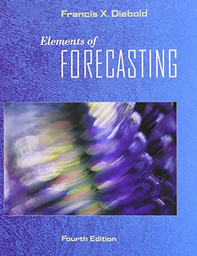 9780324323597: Elements of Forecasting (with InfoTrac 1-Semester, Economic Applications Online Product, Data Sets Printed Access Card)