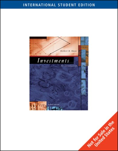 9780324323733: Investments: An Introduction