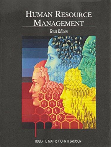 9780324325911: Human Resource Management 10th Edition 2004