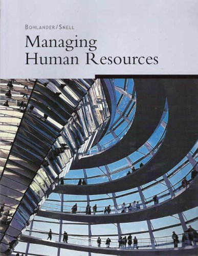 9780324335651: Managing Human Resources (Custom Edition)