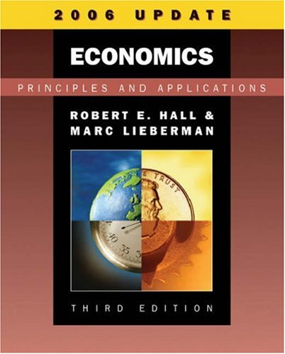 9780324335811: Economics: Principles and Applications, 2006 Update (with InfoTrac)