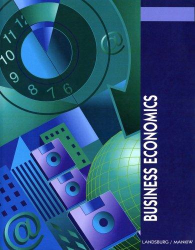 Business Economics: N. Gregory, Mankiw, Steven, Landsburg