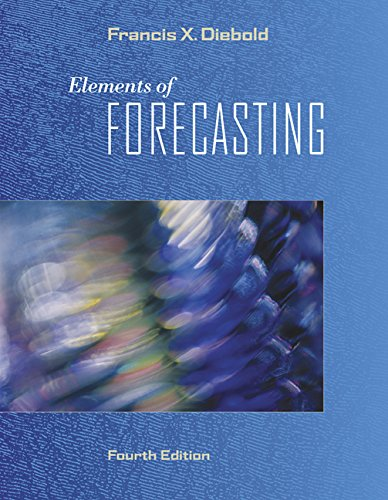 Elements of Forecasting (Book Only): Francis X. Diebold
