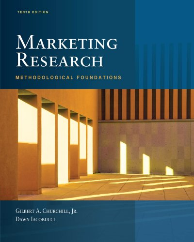 9780324359954: Marketing Research: Methodological Foundations (Book Only)
