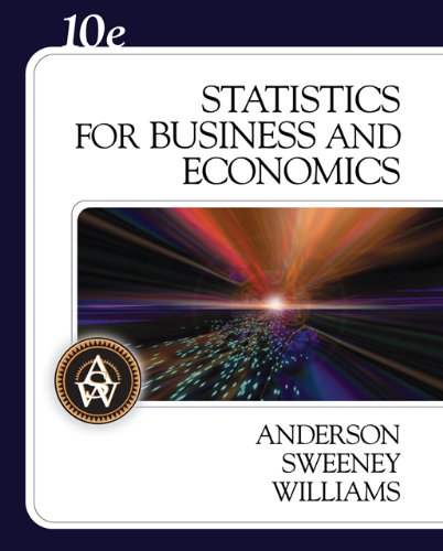 9780324360684: Statistics for Business and Economics (with CD-ROM) (Available Titles CengageNOW)