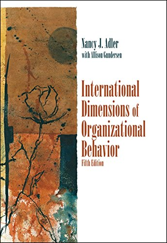 9780324360745: International Dimensions of Organizational Behavior