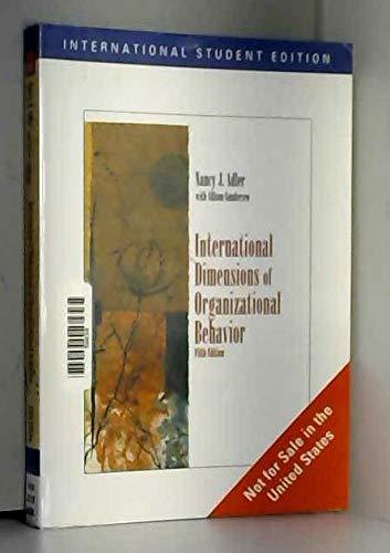 9780324360752: International Dimensions Of Organizational Behavior 5Th Ed.