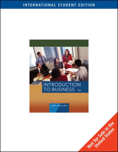 9780324360790: Introduction to Business