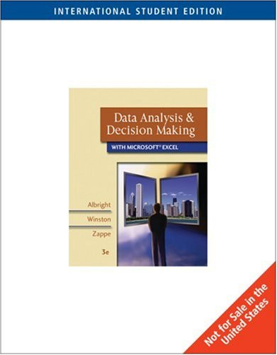 9780324360837: Data Analysis and Decision Making with Microsoft Excel: WITH Infotrac, AND Decision Tools AND Statistic Tools Suite