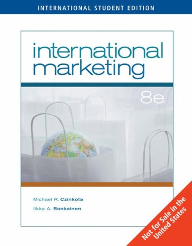 9780324361155: International Marketing