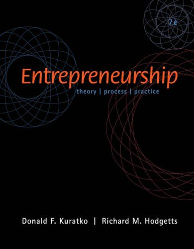 9780324361964: Entrepreneurship