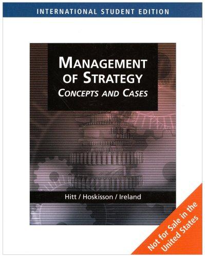 9780324364330: Strategic Management