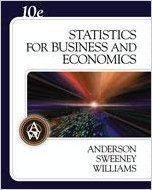 9780324365092: Statistics for Business and Economics