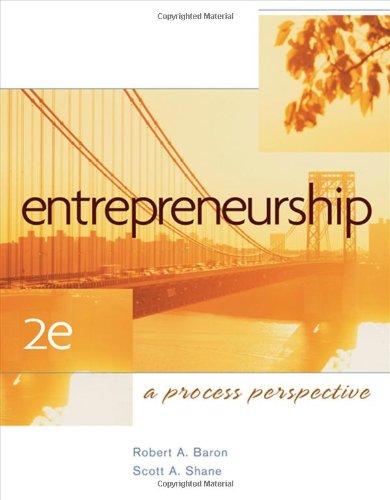 9780324365580: Entrepreneurship: A Process Perspective