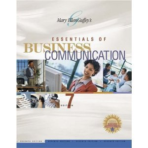 9780324372304: Essentials of Business Communication, 7th Edition