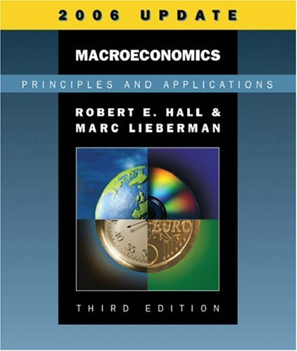 9780324374247: Macroeconomics: Principles and Applications, 2006 Update (with InfoTrac)