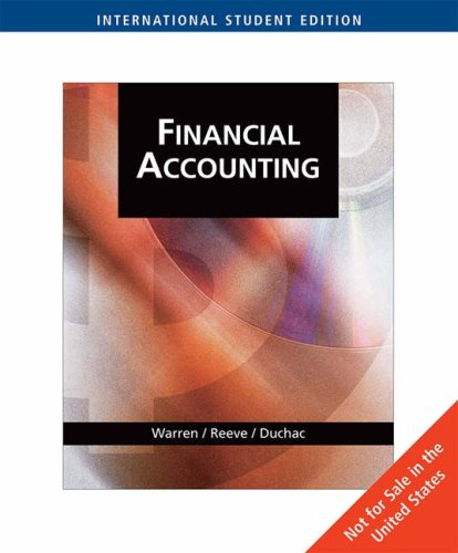 financial accounting 7th edition cases and projects