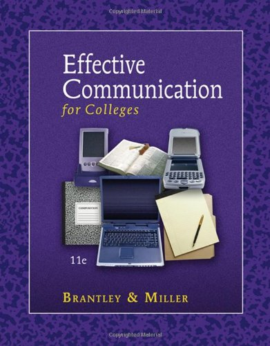 9780324374766: Effective Communication for Colleges