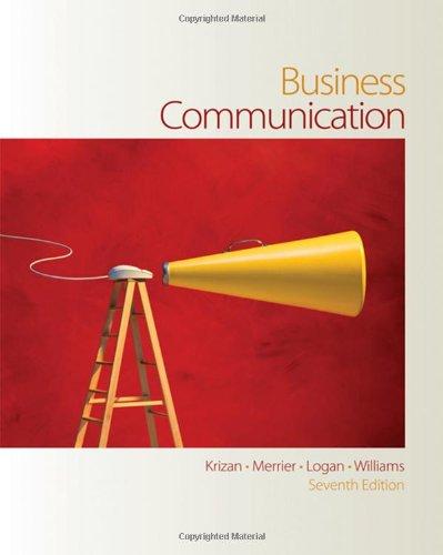 9780324374858: Business Communication