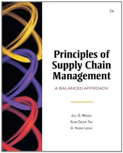 9780324375084: Principles of Supply Chain Management (Book Only)