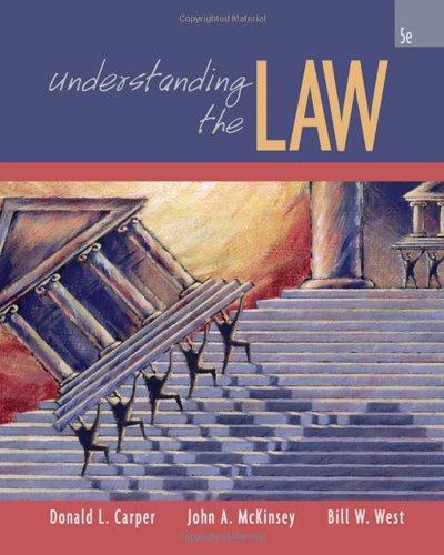 9780324375121: Understanding the Law