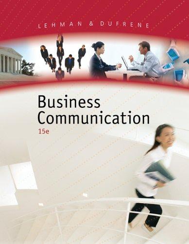 9780324375534: Business Communication