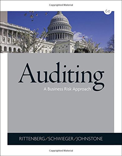 9780324375589: Auditing: A Business Risk Approach (with CD-ROM)