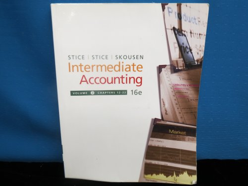 9780324375749: Intermediate Accounting, 16th Edition Volume 2, Chapters 12-22 (with Business and Company Resource C