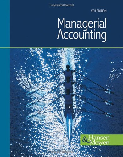 9780324376005: Managerial Accounting (Available Titles CengageNOW)