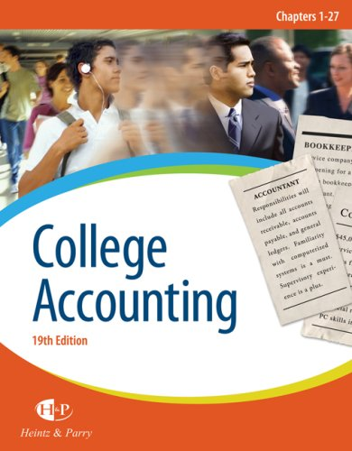 9780324376166: College Accounting, Chapters 1-27 (Available Titles CengageNOW)
