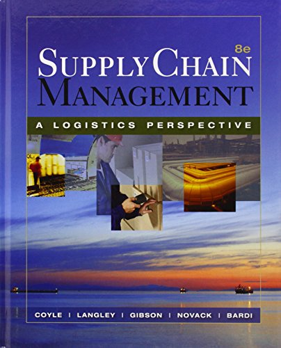 9780324376920: Supply Chain Management: A Logistics Perspective (with Student CD-ROM)