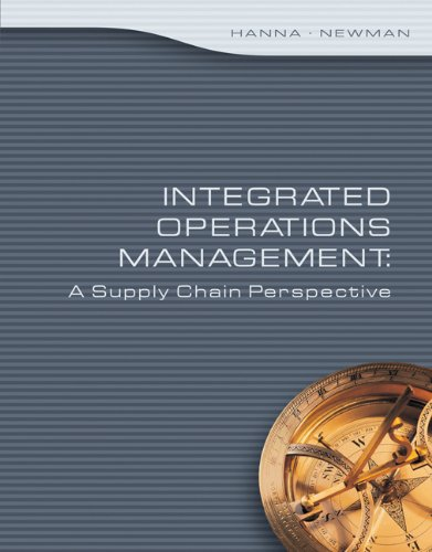 9780324377873: Integrated Operations Management: A Supply Chain Perspective (Thomson Advantage Books)